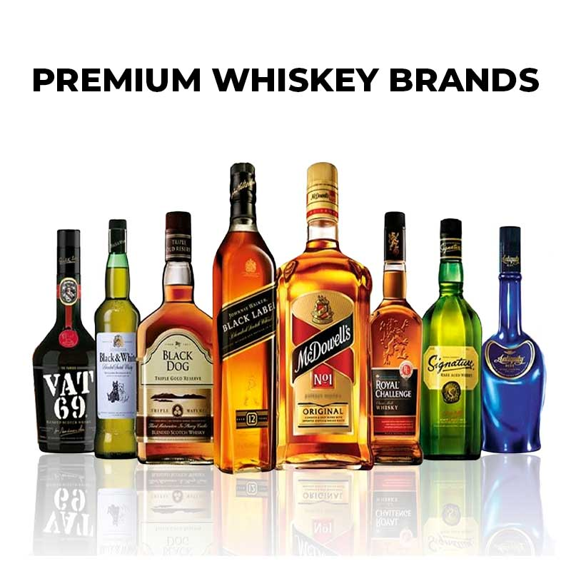 Premium Whiskey Brands